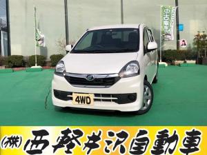 ダイハツ ミライース Lf SA 4WD スマートアシスト キーレス CD アイドリングストップ
