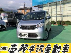 日産 デイズ X スマ-トキ- CD ABS シートヒーター パワステ キーフリ フルタイム4WD 全カメラ AAC i-STOP エアバッグ パワーウィンドウ