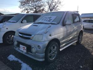 ダイハツ テリオスキッド エアロダウンカスタムX 4WD 背面タイヤハードカバー
