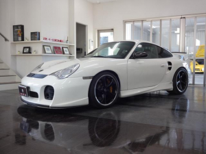 ポルシェ 911 911ターボ TECARTエアロ 車高調 シートヒーター