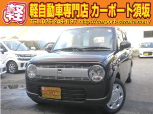 スズキ アルトラパン G 4WD プッシュスタート シートヒーター CD