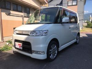 ダイハツ タント カスタムX 軽自動車 パールホワイトI AT CDオーディオ