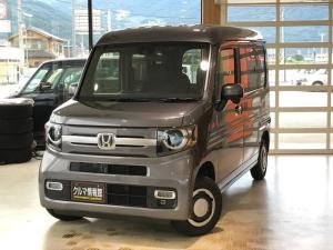 ホンダ N-VAN+スタイル ファン・ターボホンダセンシング 4WDターボ 地デジフルセグナビ 音声タイプETC バックカメラ キーフリーシステム 追従走行機能