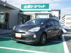 トヨタ アクア S メモリーナビ フルセグ バックカメラ キーレス ETC ロングラン保証