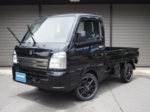スズキ キャリイトラック KCスペシャル 4WD・新品15インチアルミホイール・デュアルブレーキサポート・届出済使用車