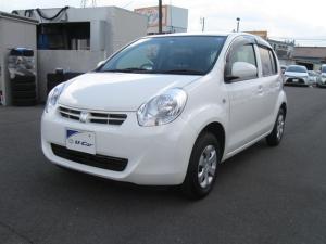 トヨタ パッソ X クツロギ CD AM/FMチューナー マニュアルエアコン スペアタイヤ