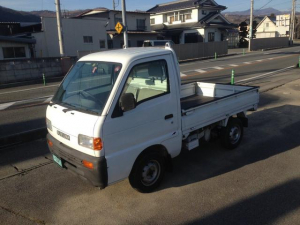 スズキ キャリイトラック 切替式4WD パワステ 5MT