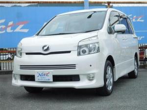 トヨタ ヴォクシー Z 4WD DVDナビ パワスラ ロングラン保証