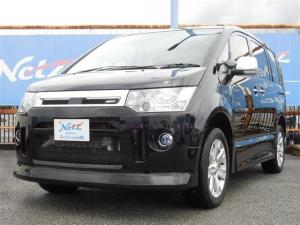三菱 デリカD:5 ローデスト DパワーPKG 4WD ナビTV ロングラン保証