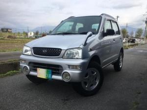 ダイハツ テリオスキッド CL 4WD ターボ キーレス フォグ 背面タイヤ