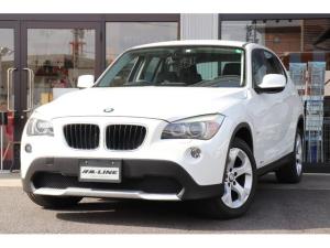 BMW X1 sDrive 18i ワンオーナー コンフォートアクセス キセノンヘッドライト オートライト オートワイパー 社外ナビ TVワンセグ 取扱説明書 メンテナンスノート 純正17インチアルミホイール