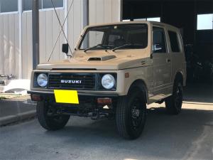 スズキ ジムニー HC ターボ 4WD 4ナンバー 5速マニュアル車 社外前後バンパー マフラー エアクリーナー ブラックホイール
