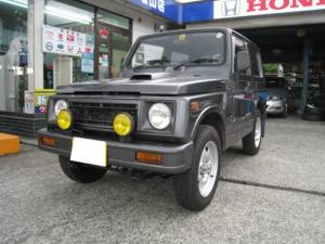 スズキ ジムニー バン HC ターボ 4WD 5速マニュアル車 CDデッキ
