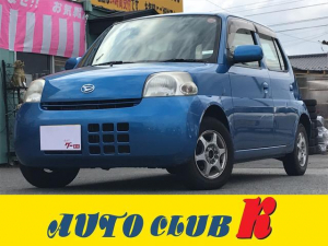 ダイハツ エッセ L 4WD キーレス CD 社外アルミ 車検令和3年3月