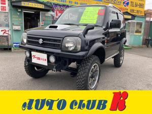 スズキ ジムニー ワイルドウインド 4WD ターボ 社外マフラー テール リフトアップ シートヒーター オートマ