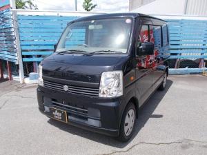 スズキ エブリイワゴン JPターボ 運転席シートヒーター CD エアバッグ ABS 4WD ターボ車