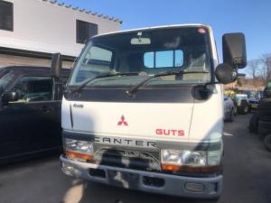 三菱ふそう キャンター ガッツ 4WD 5速マニュアル 3名乗り ホワイト