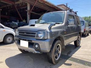 スズキ ジムニー ワイルドウインド 4WD ターボ 電格ミラー キーレスエントリー AC 衝突安全ボディ CD アルミホイール オートマ
