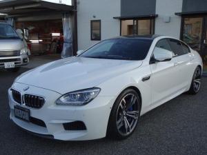 BMW M6 グランクーペ ナビ 本革 ベンチレーションシート 20インチアルミ 1オーナー