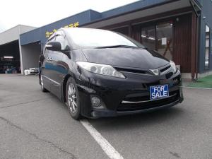 トヨタ エスティマ アエラス 7人乗り 車高調バネ HDDナビ 両側電動スライド