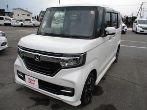 ホンダ N-BOXカスタム G・Lターボホンダセンシング ETC 走行66キロ 元展示車