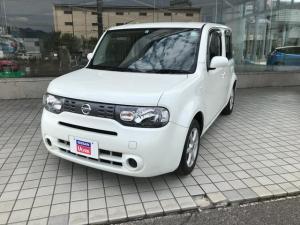 日産 キューブ 15X FOUR Vセレクション ワンオ-ナ-・4WD・純正オ-ディオ・インテリキ-