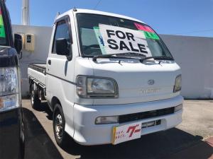 ダイハツ ハイゼットトラック パワステ エアコン 4WD 三方開 5MT 69733キロ
