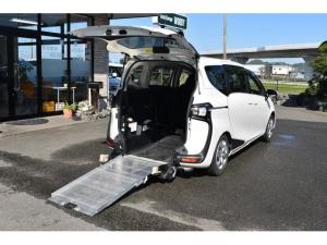 トヨタ シエンタ X 車いすスローパー 福祉車両 ナビTV トヨタセイフティセンス