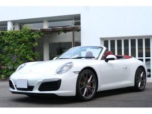 ポルシェ 911 911カレラS カブリオレ 正規ディ-ラ-車