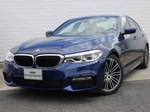 BMW 5シリーズ 523d Mスポーツ 1年AC デモ禁煙認定車