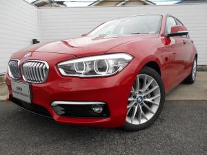 BMW 1シリーズ 118d ファッショニスタ 2年BPSデモ禁煙認定車