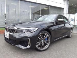 BMW 3シリーズ M340i xDriveガラスSRブラウン革19AW認定車