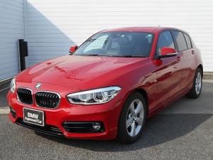 BMW 1シリーズ 118i スポーツ 1年AC1オナ禁煙認定車