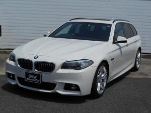 BMW 5シリーズ 523dツーリング Mスポーツ 1年AC禁煙認定車19AW黒革SR地デジACCマルチDSPETC