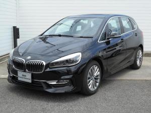 BMW 2シリーズ 218dアクティブツアラー ラグジュアリー 17AW黒革衝突軽減PアシストコンフォートpkgETC 2年BPSデモカー禁煙認定車
