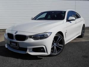BMW 4シリーズ 420iグランクーペ Mスポーツ 19AW黒革衝突軽減ACCPDCHUDLEDヘッドETC 1年AC1オナ禁煙認定車