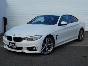 BMW 4シリーズ 435iクーペ Mスポーツ 19AW黒革衝突軽減地デジACCPDCLEDヘッドHUDドラレコETC 1年AC1オナ禁煙認定車