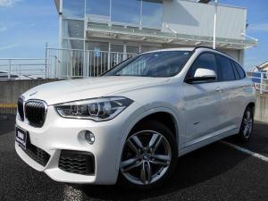 BMW X1 sDrive 18i Mスポーツ 18AW衝突軽減PアシストコンフォートpkgETC 1年AC1オナ禁煙認定車