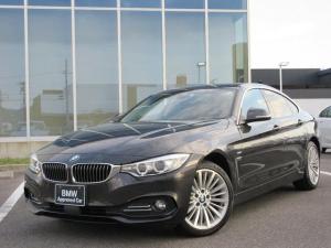 BMW 4シリーズ 420i xDriveグランクーペ ラグジュアリー 18AWサドルブラウン革アドバンスドセーフティPドラレコ禁煙1オーナー認定中古車