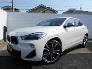 BMW X2 M35i 20AW茶革SR衝突軽減ACCPアシストETC 1年AC1オナ禁煙認定車