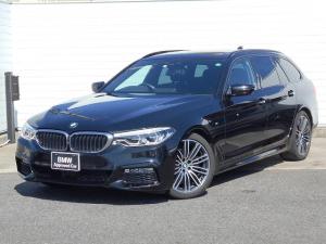 BMW 5シリーズ 523dツーリング Mスポーツ 19AW黒革SR衝突軽減地デジACCPアシストETC 1年AC1オナ禁煙認定車