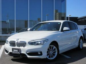 BMW 1シリーズ 118i スタイル 16AW純正HDDナビゲーションパーキングサポートPKG禁煙1オーナー認定中古車
