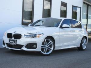 BMW 1シリーズ 118i Mスポーツ 18AWコンフォートPKGパーキングサポート禁煙1オーナー認定中古車