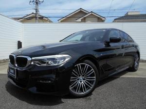 BMW 5シリーズ 540i Mスポーツ 19AWセレクトPKGイノベーションPKG黒革ガラスサンルーフハーマンカードンHi-Fi禁煙1オーナー認定中古車