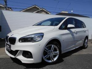 BMW 2シリーズ 218dグランツアラー Mスポーツ 17AWコンフォートPアドバンスドパーキングサポートPドラレコ禁煙1オーナー認定中古車