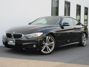 BMW 4シリーズ 420iクーペ Mスポーツ 19AW衝突軽減ACCアダプティブLEDヘッド1オーナー認定中古車