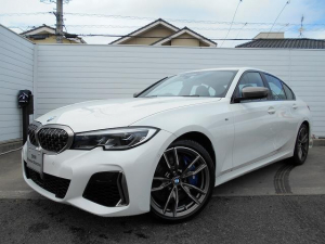 BMW 3シリーズ M340i xDrive 19AW黒革パーキングアシスト+ハーマンカードンHi-Fiデモカー認定中古車
