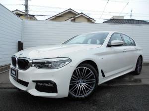 BMW 5シリーズ 523d Mスポーツ 19AWヘッドUPディスプレイウッドパネルドラレコ禁煙1オーナー認定中古車