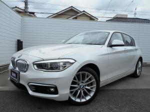 BMW 1シリーズ 118d ファッショニスタ 17AWオイスター革パーキングサポートP衝突軽減クルコン禁煙1オナ認定中古車