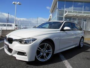 BMW 3シリーズ 318iツーリング Mスポーツ 18AW衝突軽減クルコンLEDヘッド禁煙1オーナー認定中古車
